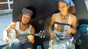 Banjo Ben and Abby the Spoon Lady